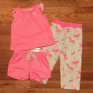Girls Size 3T Carter's Pajamas (3-Piece Set)
